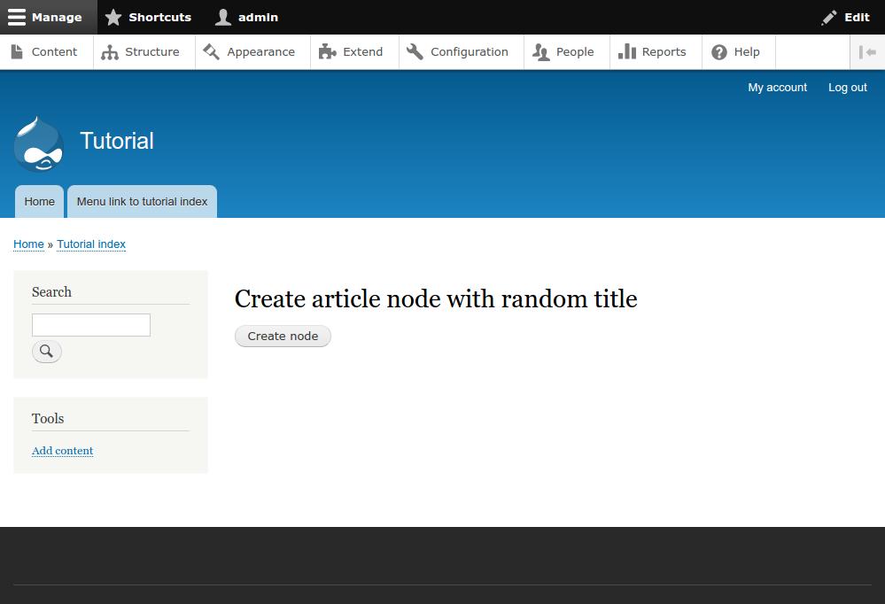 Drupal 8 API: entities | J-P Stacey