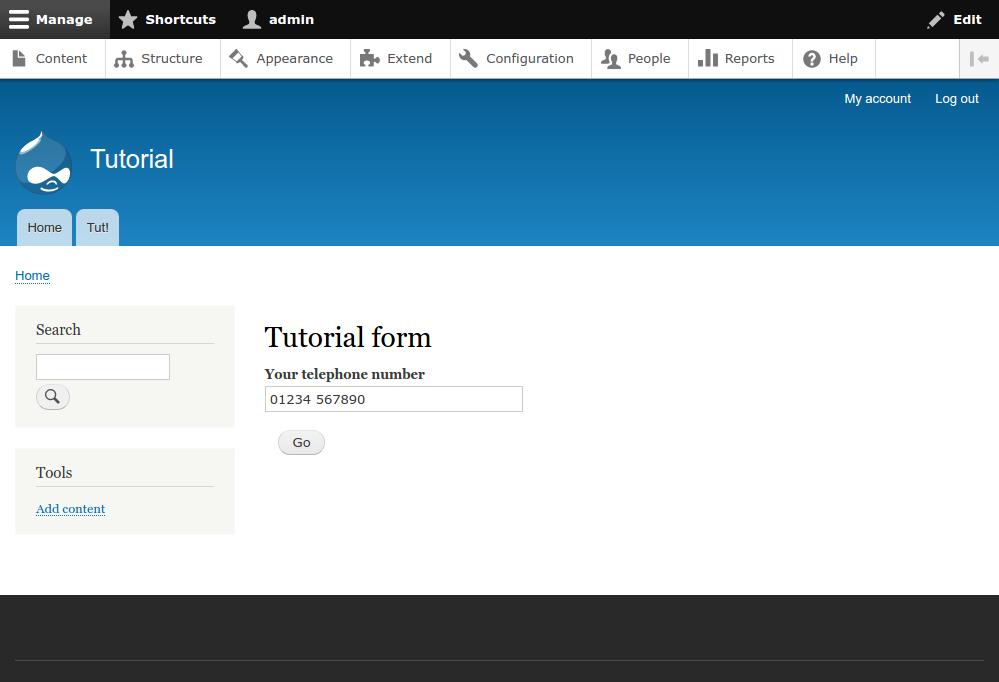 Drupal 8 API: forms | J-P Stacey